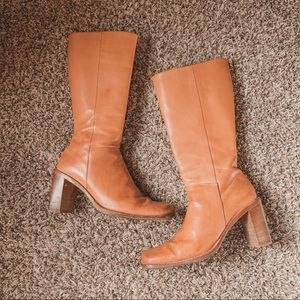 Kenneth Cole Urban Cowgirl Square toe tall boots